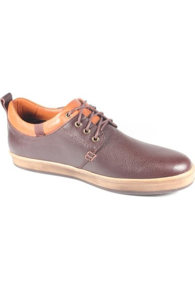Commodore 218-79-414-03 Kahverengi Deri Erkek Ayakkabı