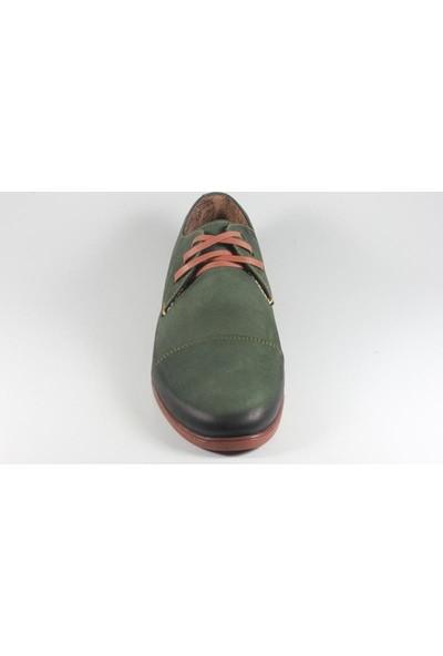 Commodore 218-61-1002-57 Yeşil Erkek Ayakkabı