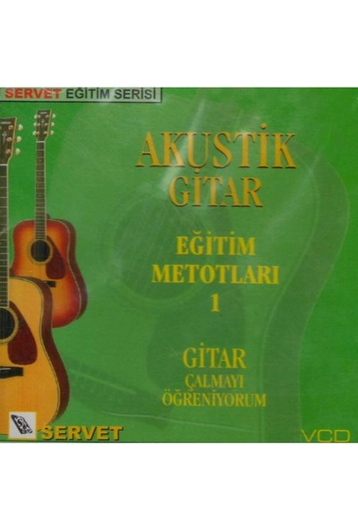 Servet Vcd Akustik Gitar Metodu 1