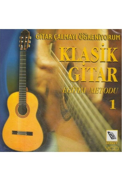Servet Vcd Klasik Gitar Metodu 1