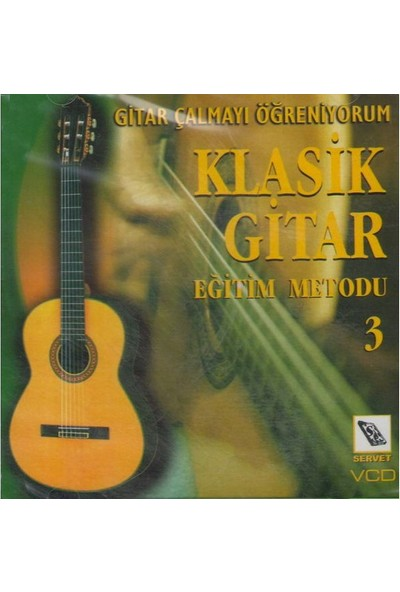 Servet Vcd Klasik Gitar Metodu 3