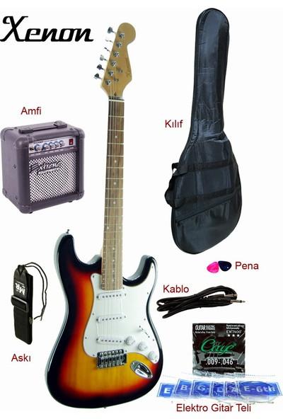 Xenon XNE3SBSET Elektro Gitar Seti