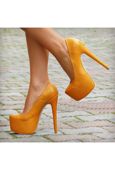 SotheVD-8005Kadın Platform Topuklu Ayakkabı
