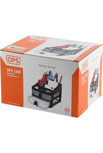Ops 7200 2 Çekmeceli Ofis Organizer A5