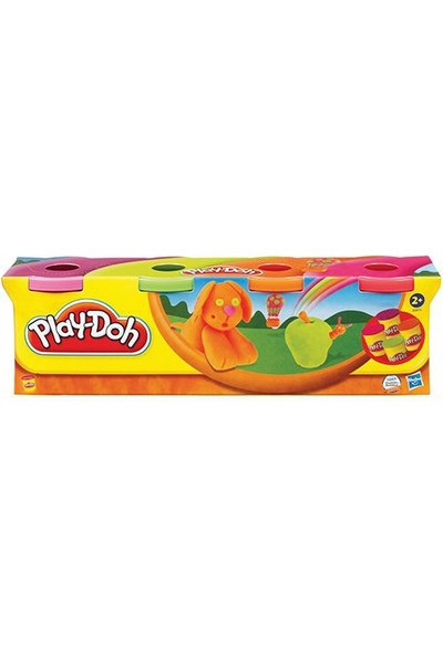 Hasbro Play-Doh Oyun Hamuru 4 Lü (Prm)448Gr B5517