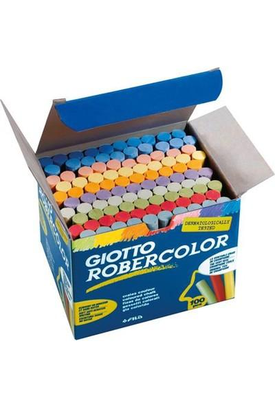 Robercolor Giotto Karışık Renkler Tebeşir 100'lü