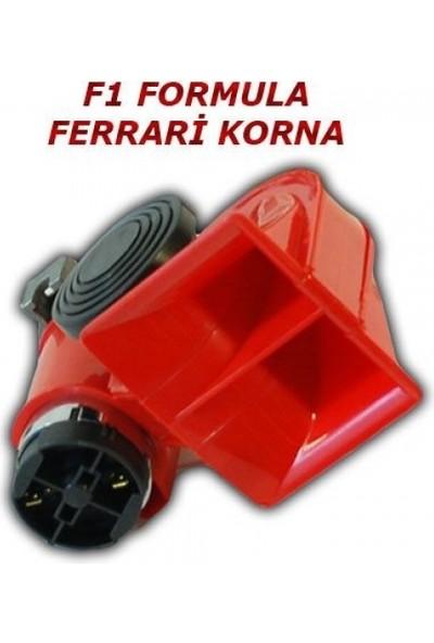 Nkt Her Araca Uygun F1 Ferrari Korna 12V