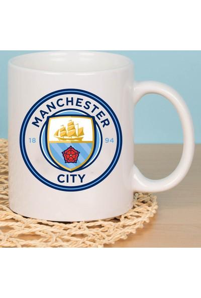 Fotografyabaskı Manchester City Taraftar Beyaz Kupa Baskı