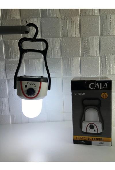 Cata Ct-9950 Gemici El Feneri Şarjlı