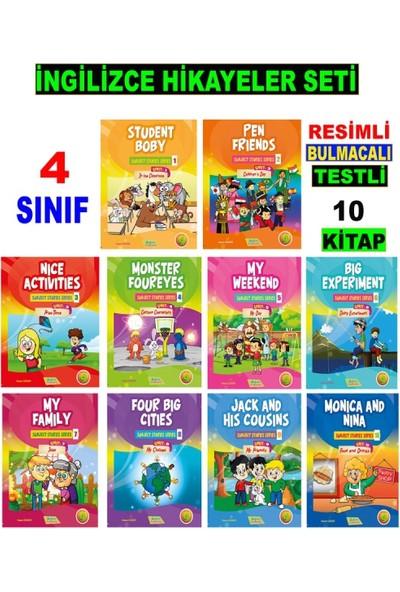 Akılyolu Publishing 4. Sınıf İngilizce Hikayeler Seti 10 Kit - Hasan Güneri