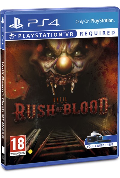 Until Dawn : Rush Of Blood Vr PS4 Oyun