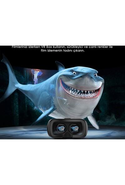 Vrbox To Vr Box 3D-Versiyon 3.0 + Bluetooth Joypad