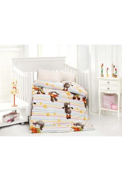 Altınbaşak Bebek Uyku Seti Kuzucuk Oranj