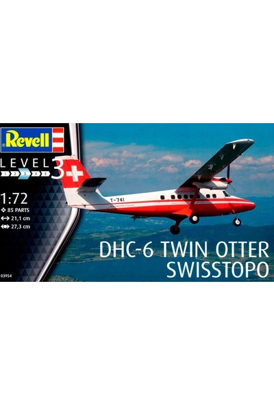 Revell Dhc-6 Twin Otter-3954