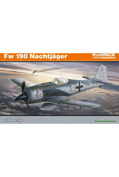 Eduard Fw 190A Nightfighter (1/48 Ölçek)