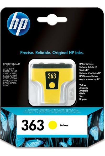 HP 363 C8773E Sarı Kartuş