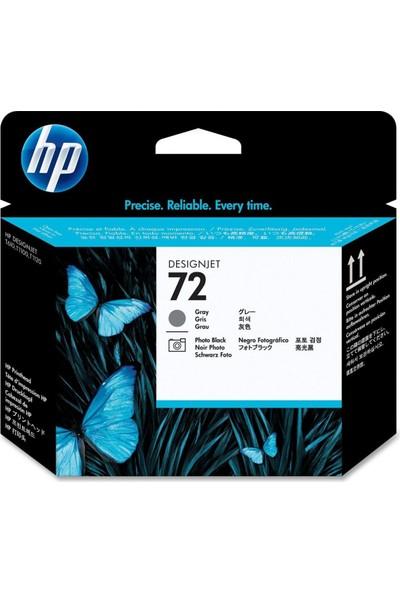 HP 72 C9380A Gri ve Photo Siyah Baskı Kafası / Hp DesignJet T610 / T620 / T770 / T790 / T795 / T1100 / T1120 / T1200 / T1300 / T2300 Kartuş