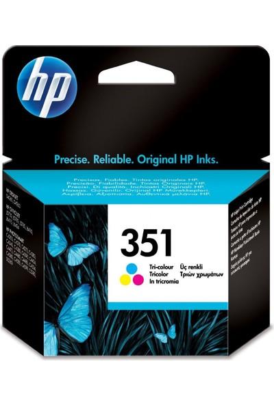 HP 351 CB337E Renkli Kartuş / Hp D4200 / D4260 / D4360 / J5730 / J5780 / J5790 / J6410 / J6480 Kartuş