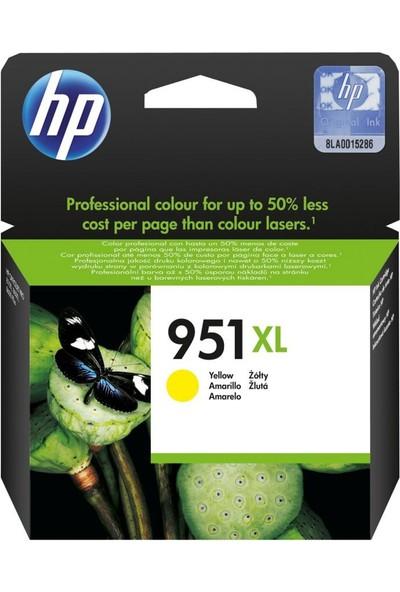 Hp 951XL CN048A Sarı Orjinal kartuş / Hp Officejet Pro 251 / 276 / 8100 / 8600 / 8610 / 8620 Sarı Orjinal kartuş