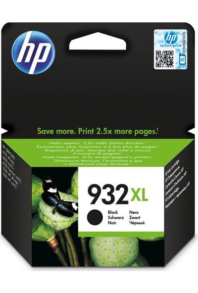 HP 932XL CN053A Kartuş / Hp Officejet 6100 / 6500 / 6600 / 6700 / 7110 / 7610 / 7612 Siyah Orjinal Mürekkep Kartuşu