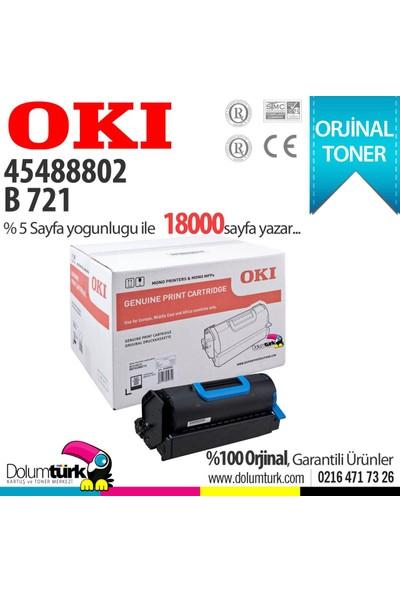 Oki 45488802 / B721 / B731 / MB760 / MB770 Orjinal Toner