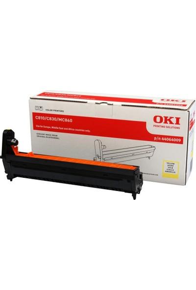 Oki C801 / C821 / C810 / C830 / MC851 / MC861 / MC860 Sarı Orjinal Drum Ünitesi