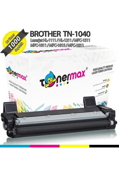 Toner Max® Brother TN-1040 / DCP-1510 / HL-1110 / MFC-1810 / MFC-1910 Muadil Toner