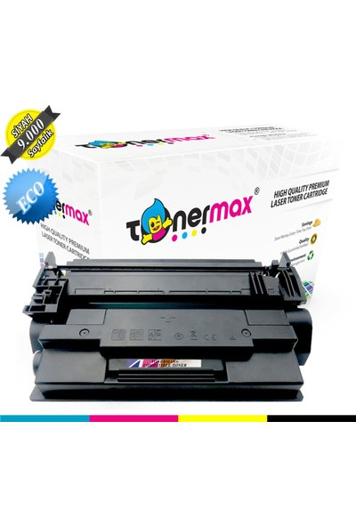 Toner Max® Hp 87A / CF287A / Enterprise M501 / M506 / M527 Muadil Toneri