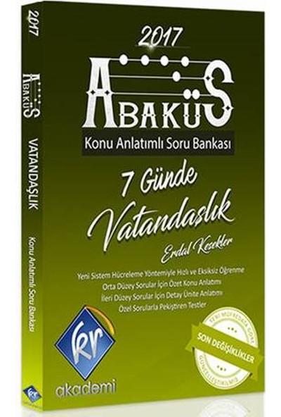 Kr Akademi Kpss Abaküs Vatandaşlık Konu Anlatımlı Soru Bankası