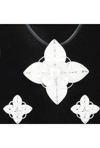 Ejoya Telkari Gümüş Takım