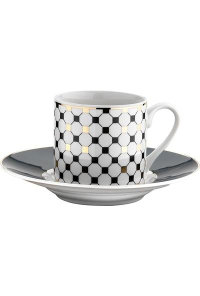 Kütahya Porselen Rüya 769712 Dekor Kahve Fincan Takımı
