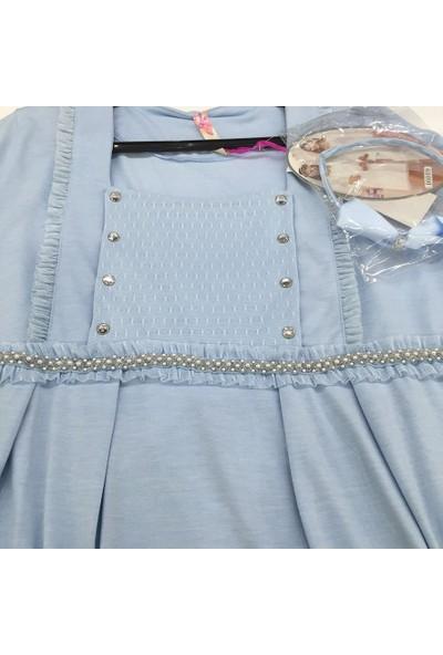 Aqua Lohusa Emzirme Pijama Takım 16020 - Mavi