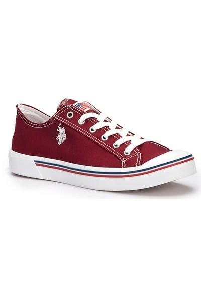 U.S. Polo Assn. Penelope Bordo Erkek Sneaker