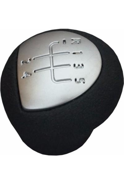 Renault Clio Kangoo Twingo Dacia Logan için Siyah Krom Vites Topuzu 8200568122