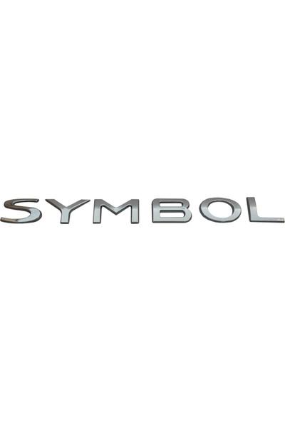 Renault Clio Symbol İçin Arka Symbol Monogram Amblem Yazısı 8200867304