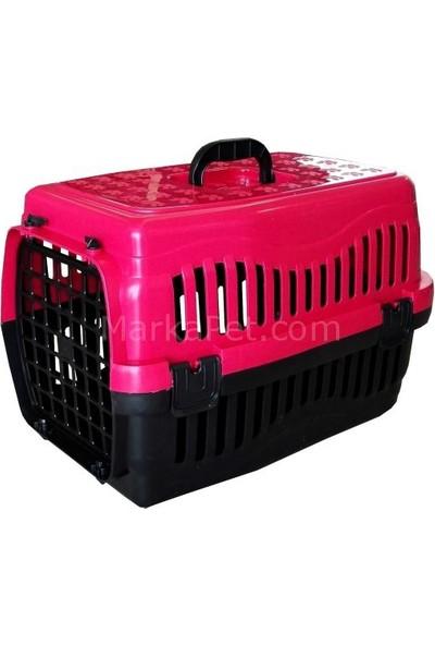 Kedi Köpek Taşıma Çantası 47x32x32cm Pembe