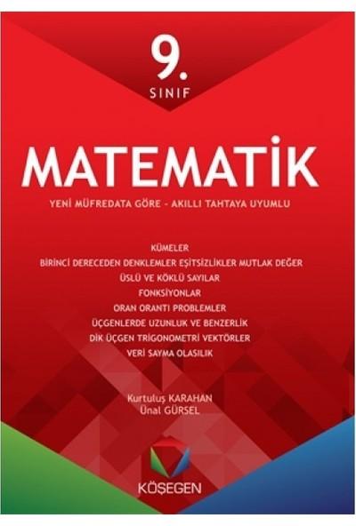 Köşegen Yayınları Köşegen 9.Sınıf Matematik Fasikül Seti