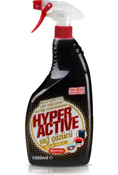 Hyper Active Yağ Çözücü Sprey 1000 ml