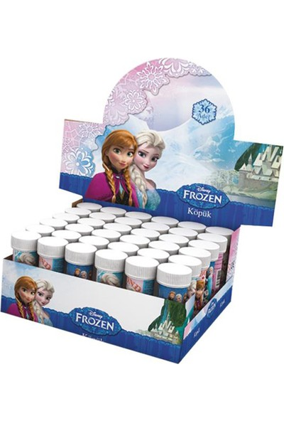 Tahtakale Toptancısı Frozen Temalı Köpüklü Üflemeli Baloncuk (5 Adet)