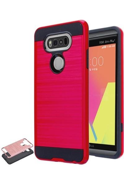 Teleplus LG V20 Çift Katmanlı Kapak Kılıf