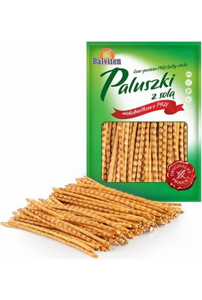 Balviten Proteini Azaltılmış Glutensiz Çubuk Kraker