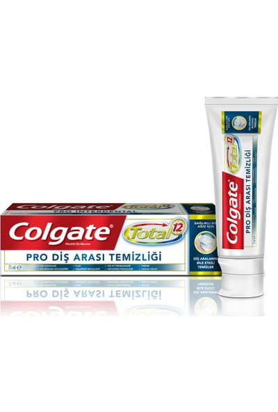 Colgate Total Profesyonel Diş Arası Temizliği Diş Macunu 75 ml