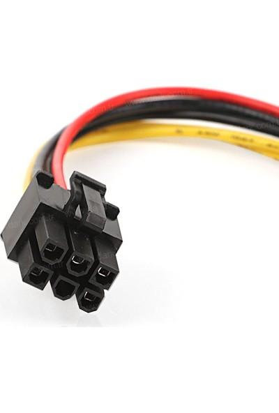 Dark Molex 4Pin - 6Pin PCI-E Dönüştürücü Güç Kablosu (DK-CB-P103)