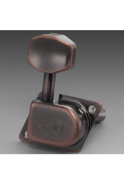 Burgu Takımı Schaller Original F70S Vintage Copper 6 Sol 10580820
