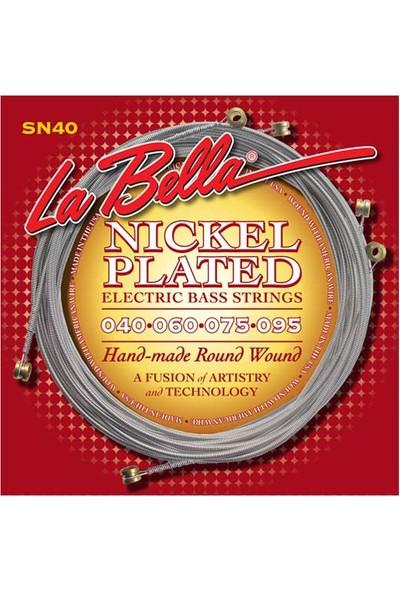 Gitar Aksesuar Bas Tel Labella 5 Telli SN40 0,40-0,95