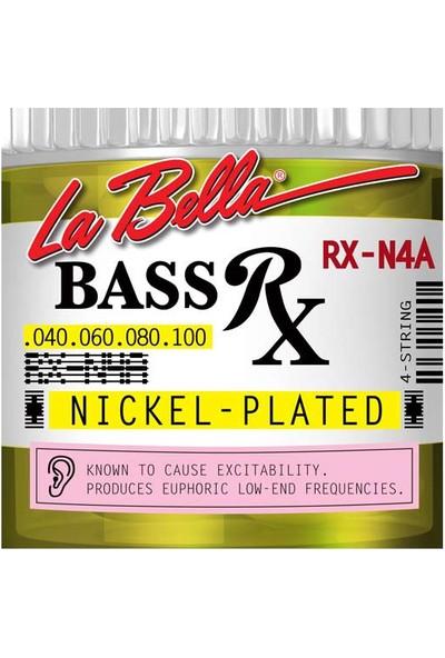 Gitar Aksesuar Bas Tel Labella 4 Telli RX-N4A 0,40