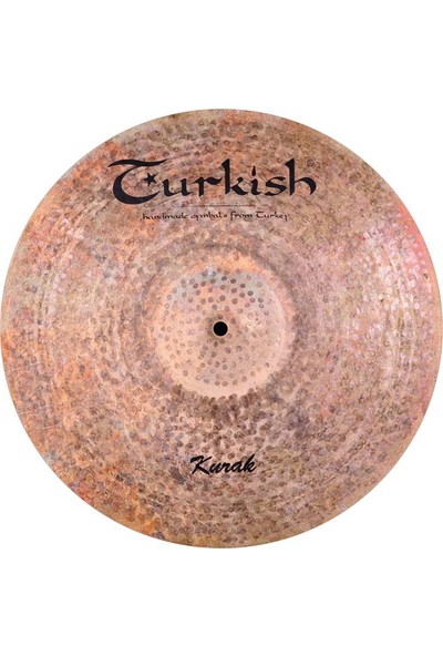 Turkish Cymbals Kurak Crash K-C18