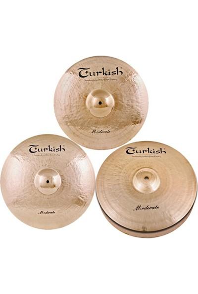 Turkish Cymbals Takım Çantalı Set M-SET-3