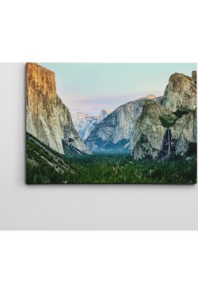 Dekolata Yosemite'de Sabah Kanvas Tablo