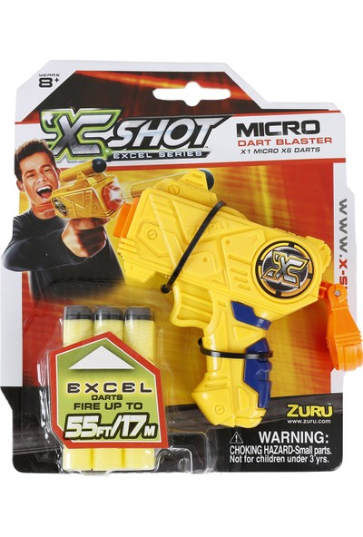 X-Shot Excel Micro Color Card